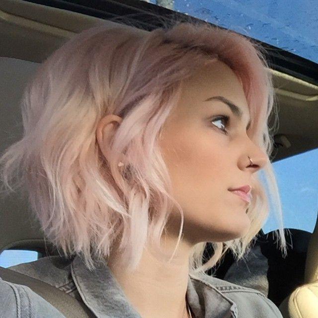 Mejores 18 Imágenes De 111Haar En Pinterest | Peinados, Atajos Y With Regard To Pink Short Hairstyles (View 8 of 20)