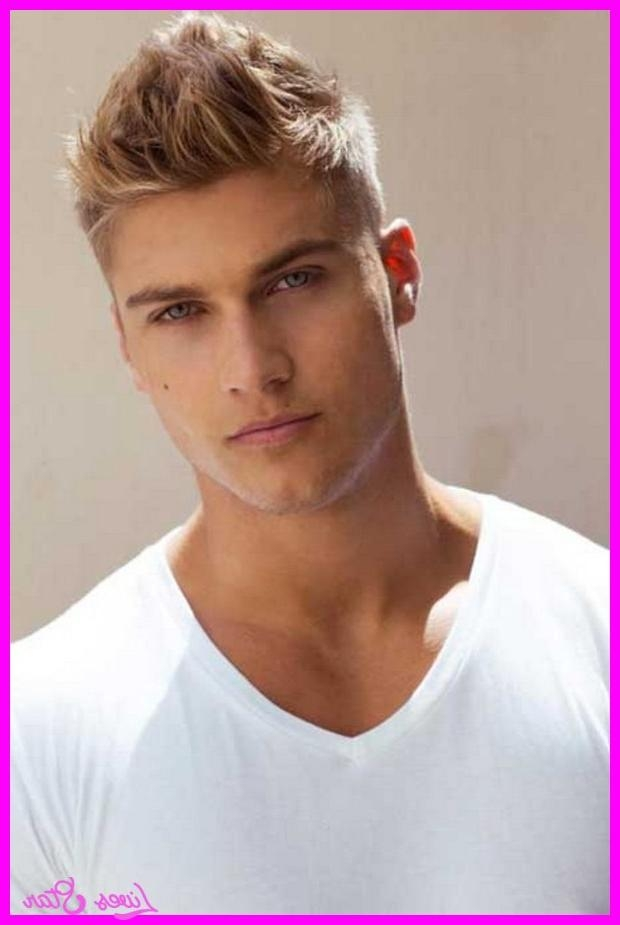 Photo Gallery Of Short Hairstyles For Men With Fine Straight Hair