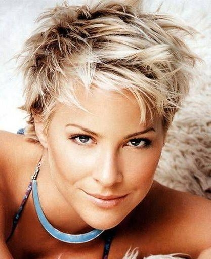 Messy Blonde Short Hair – Google Search | Recipes | Pinterest Throughout Messy Short Haircuts For Women (View 10 of 20)