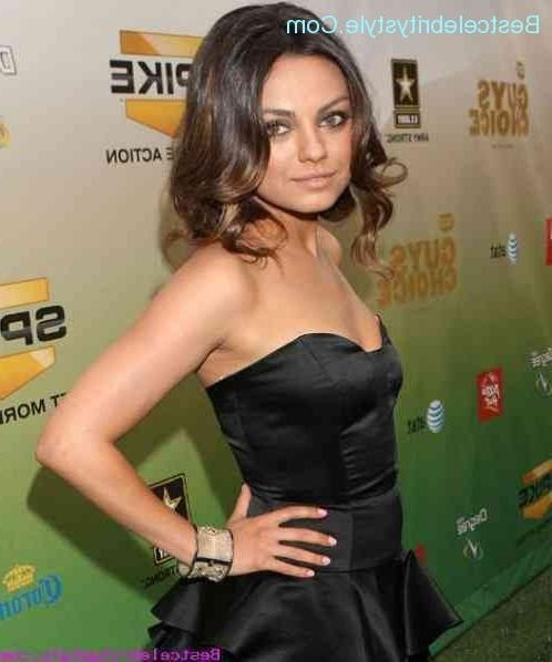 Mila Kunis Elegant Hairstyles – Bestcelebritystyle ® For Mila Kunis Short Hairstyles (View 9 of 20)