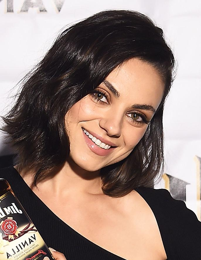 Mila Kunis Gets An Even Shorter Bob Intended For Mila Kunis Short Hairstyles (View 10 of 20)