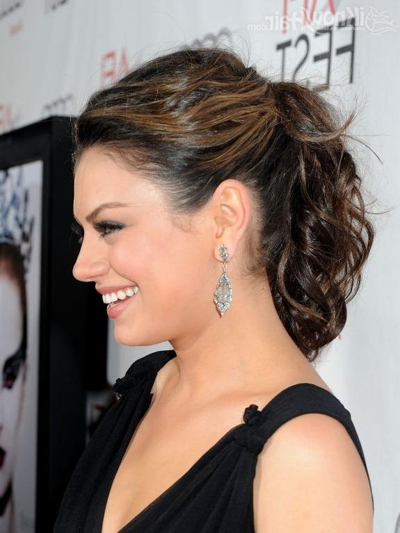 Mila Kunis Hair | Mila Kunis Hairstyles | Short Hair | Long Hair With Mila Kunis Short Hairstyles (View 12 of 20)