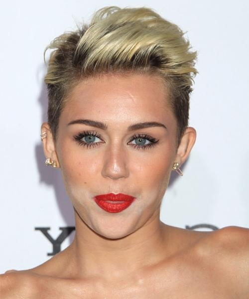 Miley Cyrus Hairstyles For 2018 | Celebrity Hairstyles Intended For Miley Cyrus Short Haircuts (View 5 of 20)