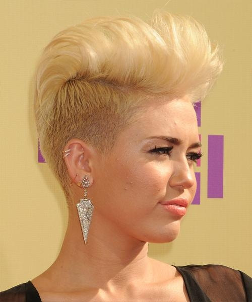Miley Cyrus Hairstyles For 2018 | Celebrity Hairstyles Regarding Miley Cyrus Short Haircuts (View 6 of 20)