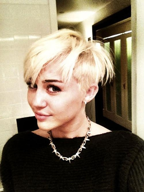 Miley Cyrus Short Hair | Short Hairstyles 2016 – 2017 | Most Within Miley Cyrus Short Haircuts (View 10 of 20)