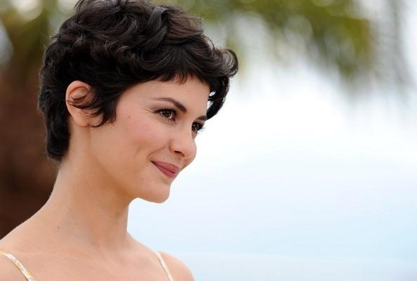 More Pics Of Audrey Tautou Messy Cut (3 Of 17) – Short Hairstyles With Audrey Tautou Short Haircuts (View 18 of 20)