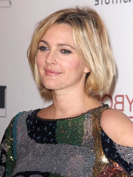 More Pics Of Drew Barrymore Bob (2 Of 13) – Short Hairstyles With Regard To Drew Barrymore Short Hairstyles (View 7 of 20)