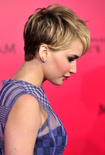 More Pics Of Jennifer Lawrence Pixie (41 Of 134) – Pixie Lookbook With Regard To Jennifer Lawrence Short Hairstyles (View 15 of 20)