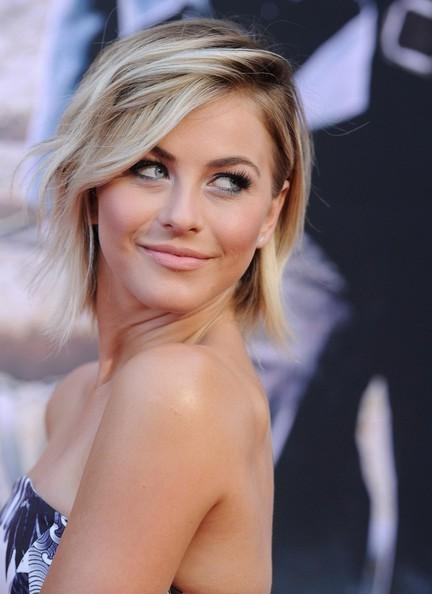 More Pics Of Julianne Hough Layered Razor Cut (7 Of 22) – Short Regarding Julianne Hough Short Haircuts (View 19 of 20)