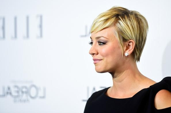 More Pics Of Kaley Cuoco Pixie (2 Of 12) – Short Hairstyles For Kaley Cuoco Short Hairstyles (View 17 of 20)