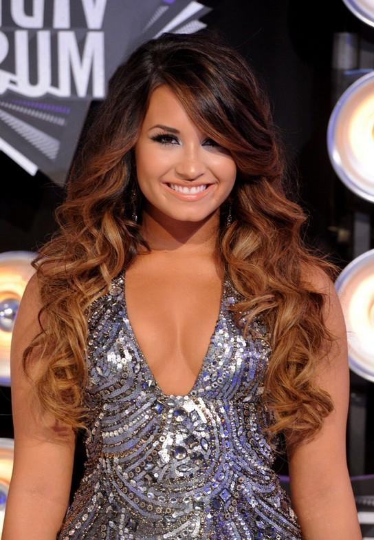 Most Current Demi Lovato Long Hairstyles Pertaining To 4 Demi Lovato Hairstyles: Long Hair – Popular Haircuts (View 6 of 15)