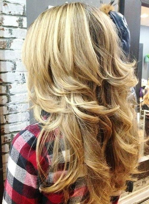 Most Current Heavy Layered Long Hairstyles Intended For Best 25+ Long Shag Haircut Ideas On Pinterest | Long Shag, Medium (View 8 of 20)