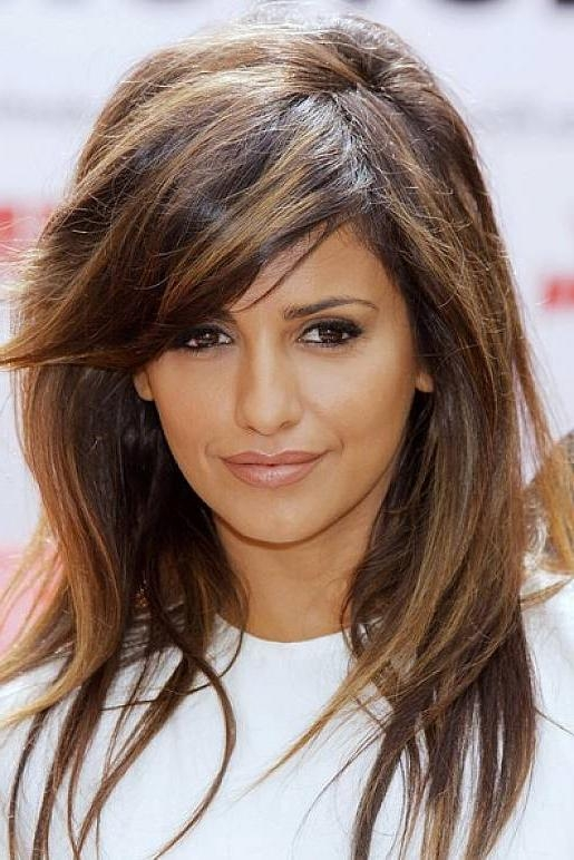 Most Current Highlighted Long Hairstyles Intended For Stylish Highlighted Bangs Hairstyles | Haircuts, Hairstyles (View 14 of 20)