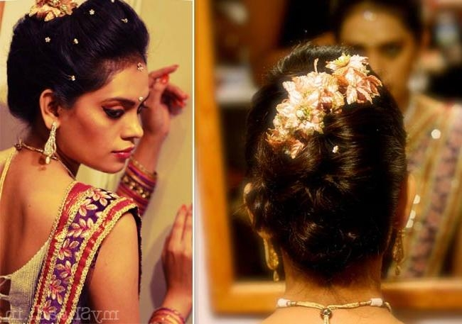Most Current Indian Wedding Long Hairstyles Pertaining To Different Indian Hairstyles For Long Hair 4 Long Hairstyles For (View 10 of 20)