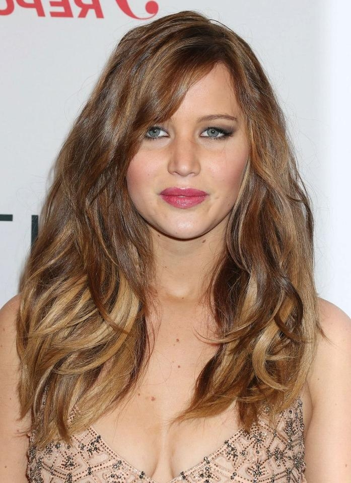 Most Current Jennifer Lawrence Long Hairstyles Intended For 4 Different Jennifer Lawrence Hair Ideas (View 7 of 20)