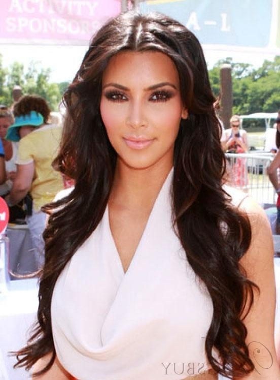 Most Current Kim Kardashian Long Hairstyles Within Kim Kardashian Long Straight Hair : Wigsbuy (View 8 of 20)