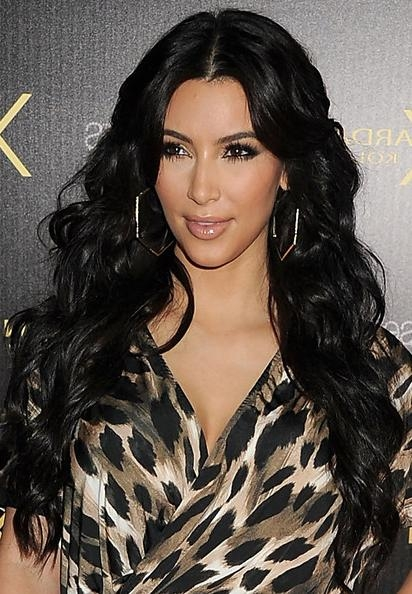 Most Current Kim Kardashian Long Hairstyles Within Long Hairstyles For All Types Of Hair | Hairstyles 2018 New (View 9 of 20)