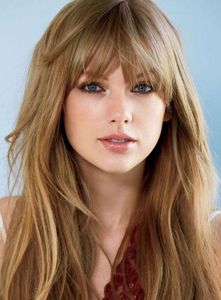 Most Current Long Haircuts With Fringe With Layered Hairstyles With Bangs (View 8 of 15)