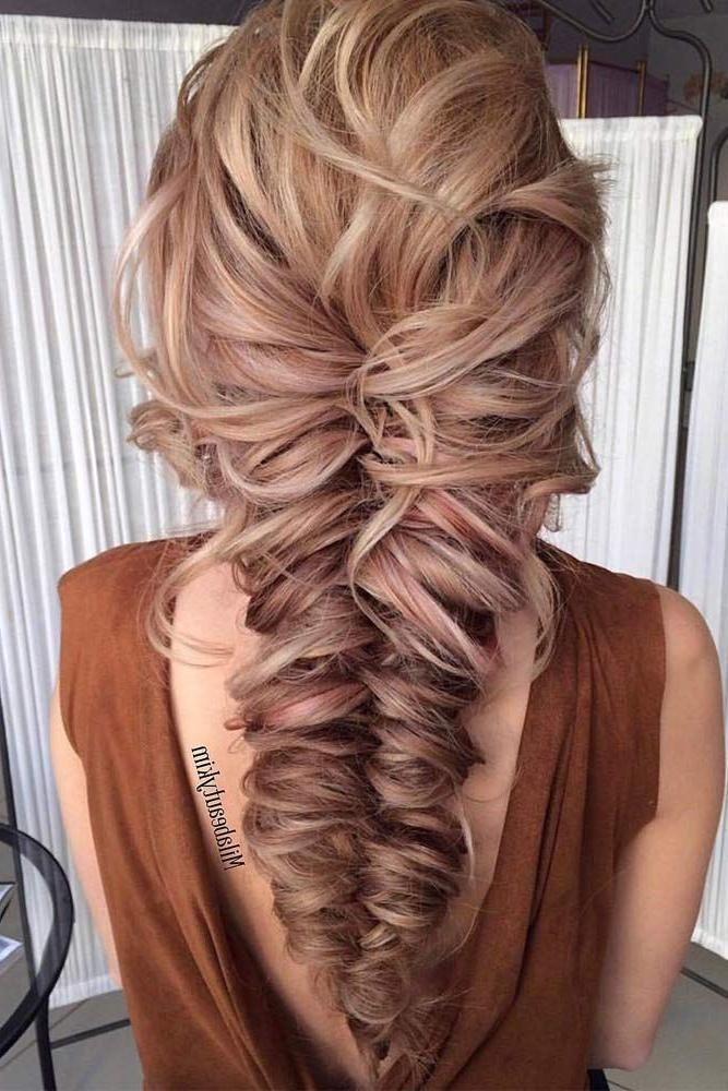 Most Current Long Hairstyle For Prom With 25+ Trending Prom Hairstyles Ideas On Pinterest | Hair Styles For (View 8 of 20)