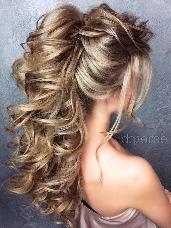Most Current Long Hairstyles Bridesmaids Inside 65 Long Bridesmaid Hair & Bridal Hairstyles For Wedding  (View 11 of 20)