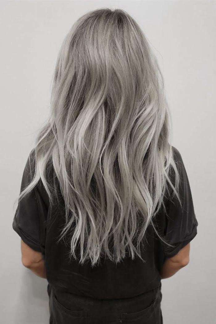 Most Current Long Hairstyles For Gray Hair Within The 25+ Best Grey Hair Ideas On Pinterest | Grey Dyed Hair, Hair (View 10 of 15)