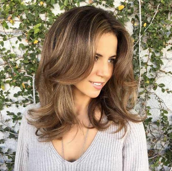 Most Current Medium Long Hairstyles For Thin Hair With 40 Most Flattering Medium Length Hairstyles For Thin Hair – Style (View 9 of 20)