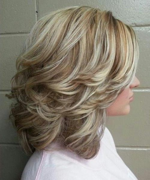 Most Current Medium Long Hairstyles With Layers With Regard To Best 25+ Medium Length Layered Hairstyles Ideas On Pinterest (View 11 of 20)