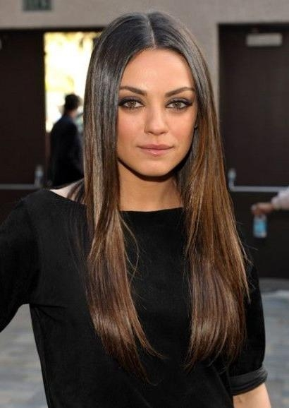 Most Current Mila Kunis Long Hairstyles Inside Best 25+ Mila Kunis Hair Ideas On Pinterest | Mila Kunis Hair (View 3 of 15)