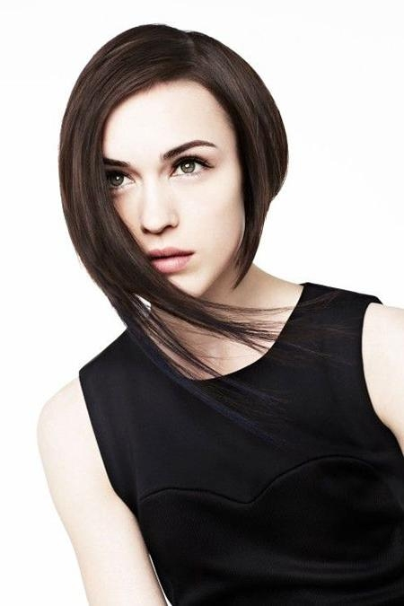 Most Current One Side Long Haircuts Inside 15 Best Asymmetrical Bob Hairstyles | Short Hairstyles 2016 – (View 2 of 15)