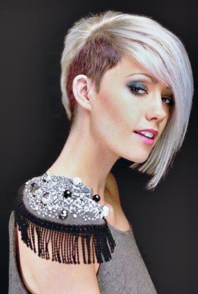 Most Current Shaved And Long Hairstyles Throughout Women Shaved Hairstyles – Hairstyle Foк Women & Man (View 3 of 15)