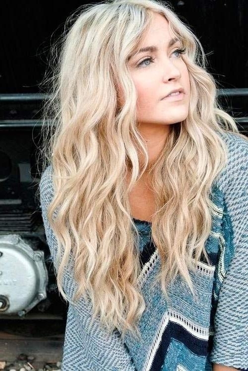Most Current Wavy Curly Long Hairstyles For 14 Simple And Easy Hairstyles For School – Pretty Designs (View 11 of 20)