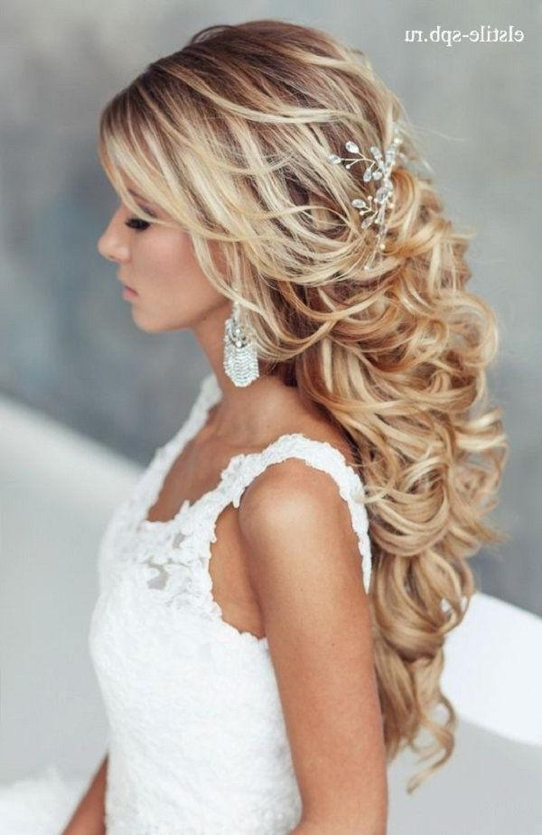 Most Current Wedding Long Down Hairstyles For Wedding Hairstyles Down – 2017 Creative Hairstyle Ideas (View 12 of 20)