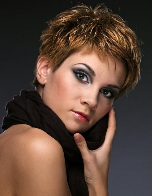 Most Popular Choppy Hairstyles In Choppy Short Hairstyles For Older Women (View 19 of 20)