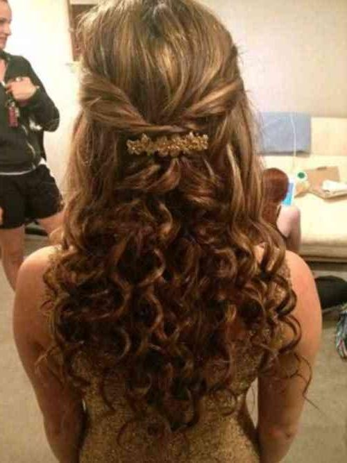 Most Popular Cute Long Hairstyles For Prom Pertaining To 40 Inspirational Modern Of Cute | Simple Stylish Haircut (View 11 of 20)