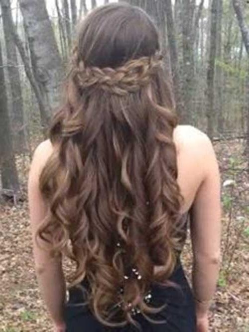 Most Popular Cute Long Hairstyles For Prom Throughout 30 Best Prom Hairstyles For Long Curly Hair | Long Hairstyles (View 7 of 20)