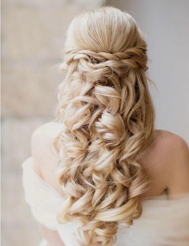 Most Popular Elegant Long Hairstyles For Weddings With Regard To Creative And Elegant Wedding Hairstyles For Long Hair – Modwedding (View 11 of 20)