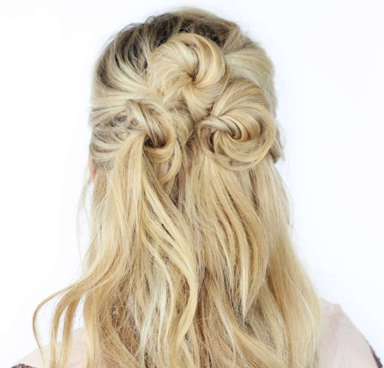 Most Popular Half Up Long Hairstyles Regarding Easy Half Up, Half Down Hairstyles To Rock For Any Occasion | More (View 13 of 20)