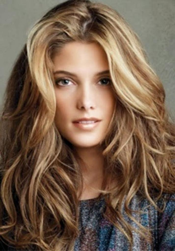 Most Popular Highlighted Long Hairstyles Pertaining To Highlighted Long Hairstyles Hairstyles Long Red Color Highlights (View 8 of 20)