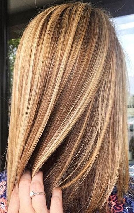 Most Popular Highlighted Long Hairstyles Regarding Best 25+ Blonde Highlights Ideas On Pinterest | Blond Highlights (View 13 of 20)
