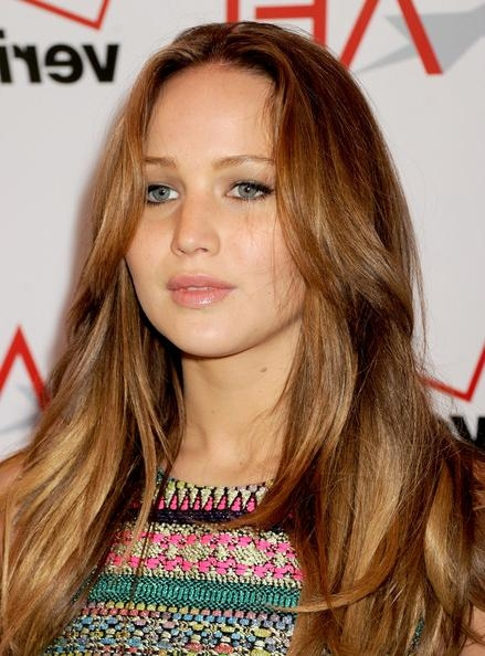 Featured Photo of Jennifer Lawrence Long Hairstyles