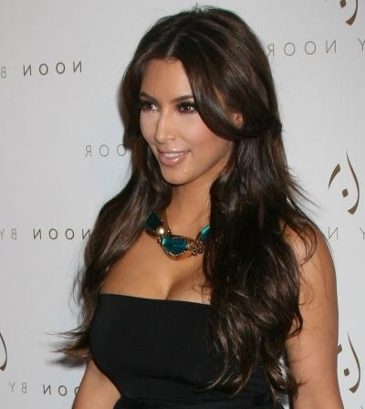Most Popular Kim Kardashian Long Hairstyles With Kim Kardashian Hair | Hairstyles 2015 Hair Colors, Updo Short (View 10 of 20)