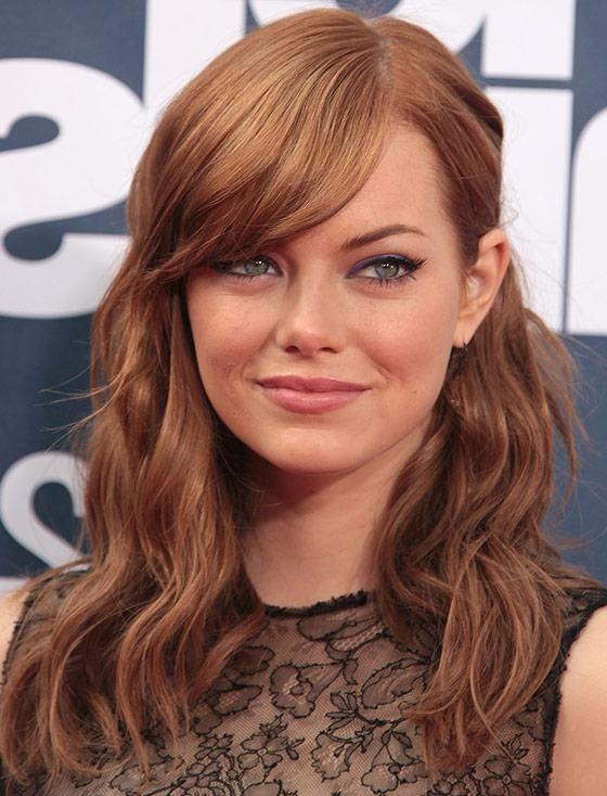Most Popular Long Haircuts For Big Foreheads Within 30 Awesome Hairstyles To Hide That Big Forehead (View 4 of 15)