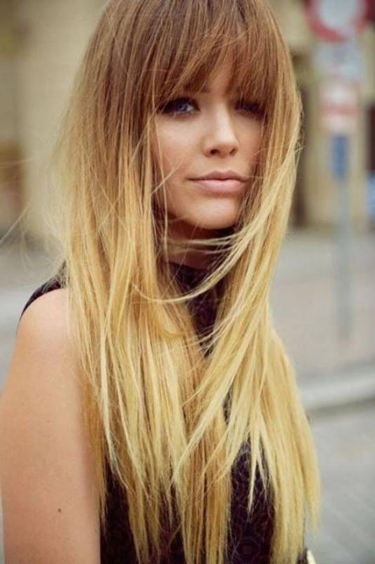 Most Popular Long Haircuts For Straight Hair In 25+ Unique Long Straight Haircuts Ideas On Pinterest | Straight (View 6 of 15)