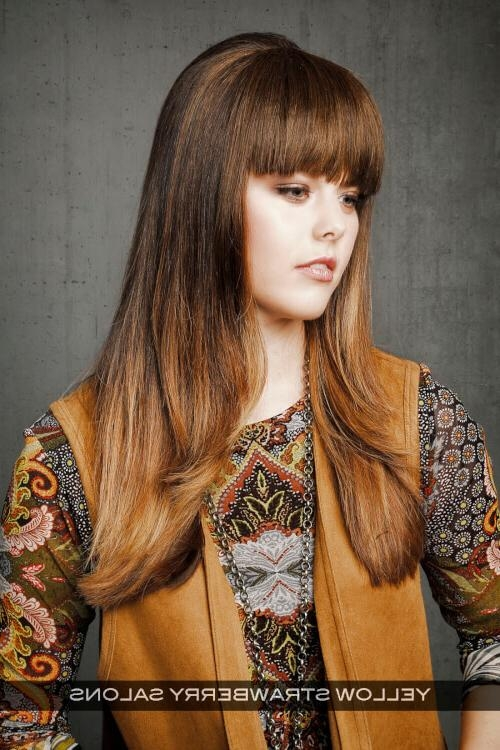 Most Popular Long Haircuts For Straight Hair With Regard To 24 Long Straight Hairstyles That Are Hot Right Now (Updated 2018) (View 7 of 15)