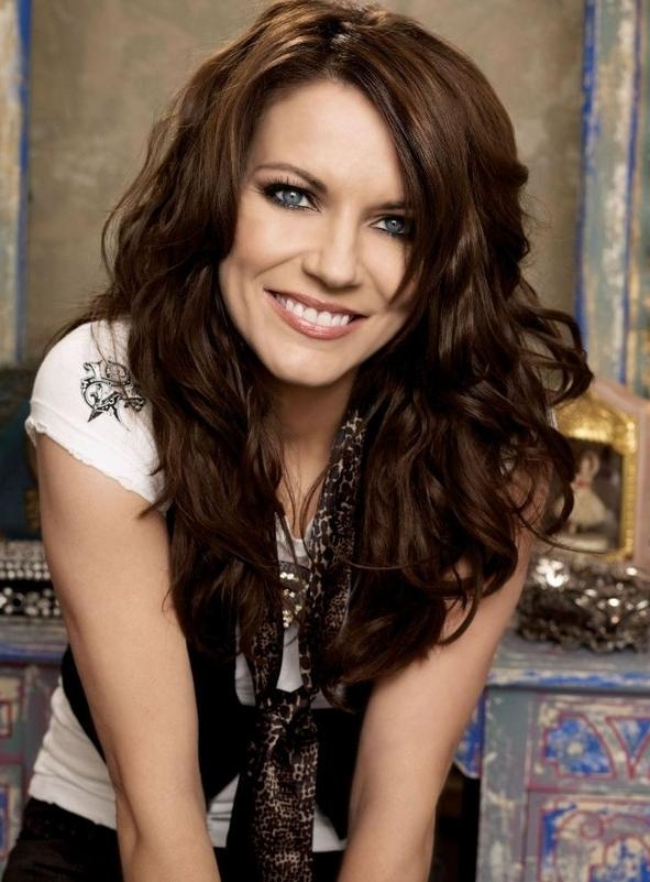 Most Popular Long Haircuts For Wavy Thick Hair For Celebrity Long Thick Wavy Hairstyle – Martina Mcbride Hairstyles (View 7 of 15)