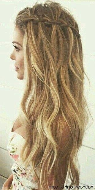 Most Popular Long Hairstyles For A Ball With Best 25+ Long Prom Hair Ideas On Pinterest | Prom Hairstyles For (View 9 of 20)