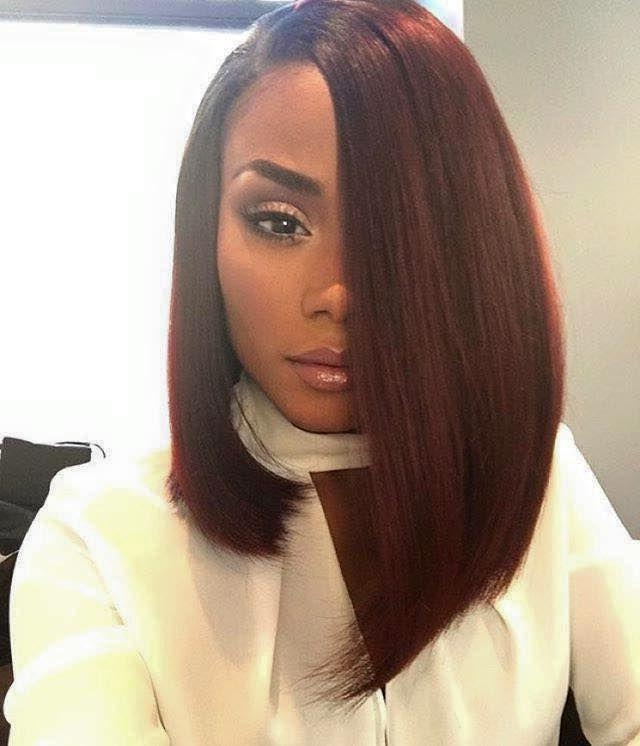 Most Popular Long Hairstyles For Black Females For Best 25+ African American Hair Ideas On Pinterest | African (View 12 of 20)