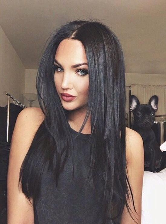 Most Popular Long Hairstyles For Black Hair Pertaining To Best 25+ Long Black Hair Ideas On Pinterest | Raven Hair Color (View 11 of 20)