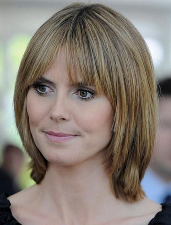 Most Popular Long Hairstyles For Fine Hair With Bangs In 111 Best Layered Haircuts For All Hair Types [2018] – Beautified (View 12 of 20)