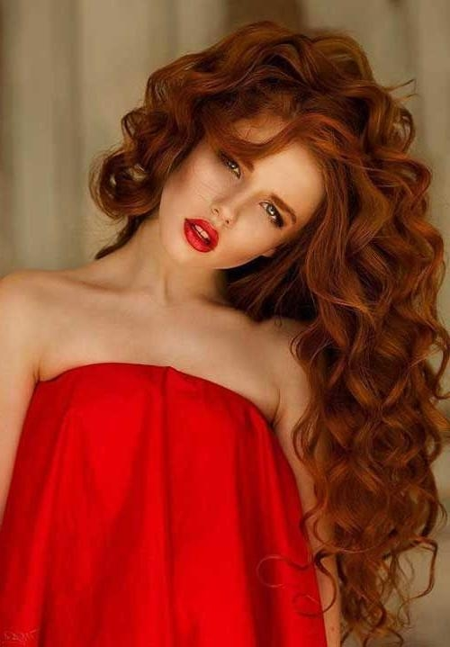 Most Popular Long Hairstyles For Red Hair For 25+ Unique Long Auburn Hair Ideas On Pinterest | Brown Auburn Hair (View 18 of 20)